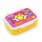 Контейнер для еды Smiley world pink с разделителем 706201